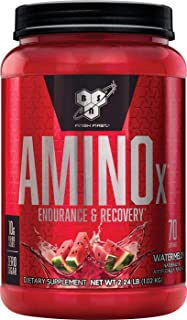 BSN AMINO X Endurance & Recovery Powder with 10 Grams of Aminos Per Serving, Flavor: Watermelon, 70 Servings