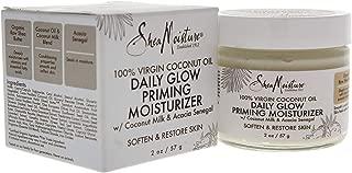Shea Moisture 100% Virgin Coconut Oil Daily Glow Priming Moisturizer By Shea Moisture for Unisex -Moisturizer, 2 Ounce