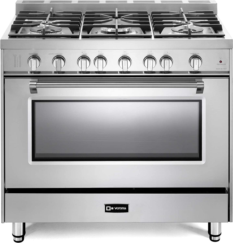 Max 44% OFF Verona Prestige Series VPFSGG365SS 36 inch Gas All Range High quality new Oven 5