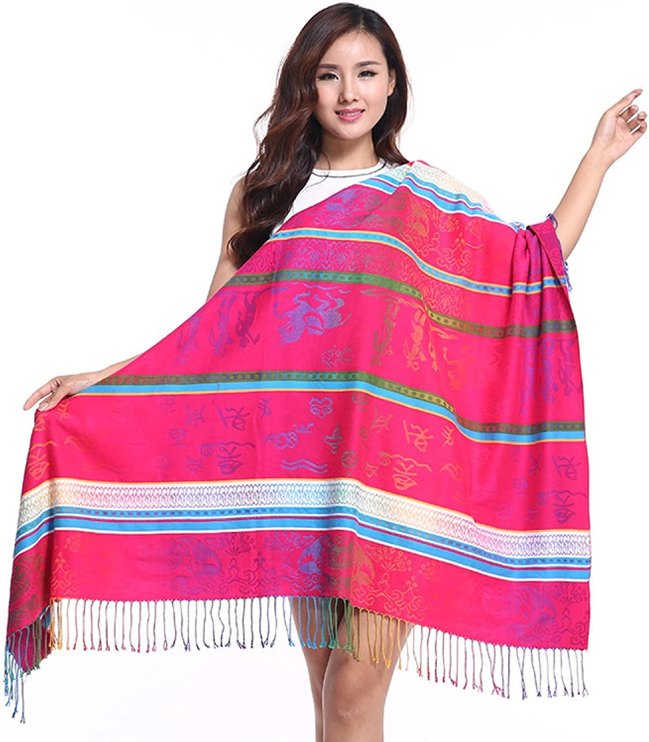 2017 High Grade New Scarf Autumn And Winter Printing Warm Shawl Square,4OneSize