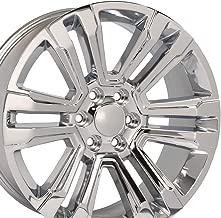 OE Wheels 24 Inch Fits Chevy Silverado Tahoe GMC Sierra Yukon Cadillac Escalade CV44 Chrome 24x10 Rim Hollander 5822