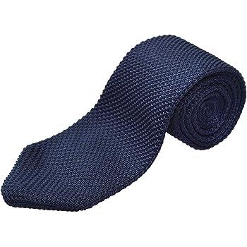 TNS - Corbata fina o corbatín clásica de punto, recta multicolor ...