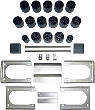 Full Lift Kit for 2005-2011 Dodge Dakota 3 Front Lift Torsion Keys 2 Rear Lift Blocks Round Bend U-Bolts 2WD Supreme Suspensions