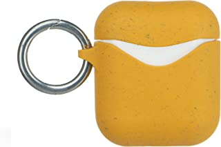Pela: Airpod and Airpod Pro Case - 100% Compostable and Biodegradable - Eco-Friendly - Made from Plants (Honey)