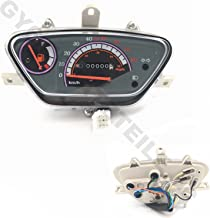 50cc TAOTAO ATM50A1 Chinese Scooters YunShuo Sunny Speedometer Transparent Cover 49cc