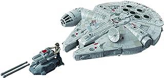 Star Wars Mission Fleet Han Solo Nave Milennium Falcon - Figura de 6 cm e Veículo - E9343 - Hasbro