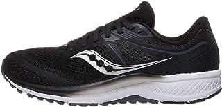 حذاء جري Saucony Women's S10570-40 Omni 19 ، أسود | أبيض - 11، M US