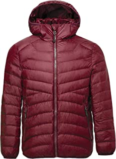 CHERRY CHICK Women's Ultra-Light Down Jacket with Hood (Perfect for Travel)