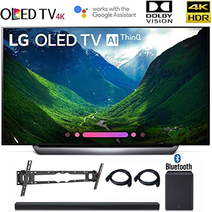 "$6496 Get LG OLED77C8 OLED 77C8 OLED77C8PUA 77"" C8 OLED 4K HDR AI Smart TV (2018 Model), LG SK8Y 2.1 ch High Res Audio Sound Bar, Wall Mount, 2HDMI Cables. LG Authorized Dealer!"