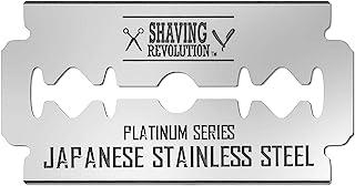 Double Edge Razor Blades - Men´s Safety Razor Blades for Shaving - Platinum Japanese Stainless Steel Double Razor Shaving ...