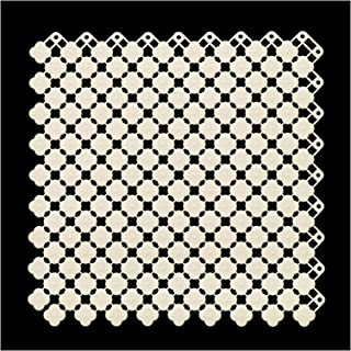 XXIOJUN Shower Mat, Foot Pad Assembled Mat DIY Installation Hollow Out Fast Drainage Practical And Wear-resistant, For Bat...