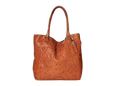 FRYE AND CO. Hallie Tote (Cognac) Handbags