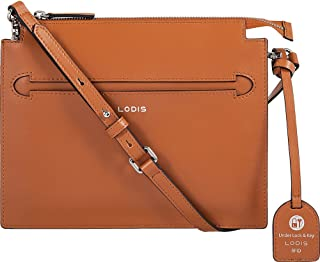 Lodis Accessories Women's Silicon Valley RFID Kay Accordion Crossbody Toffee/Taupe One Size