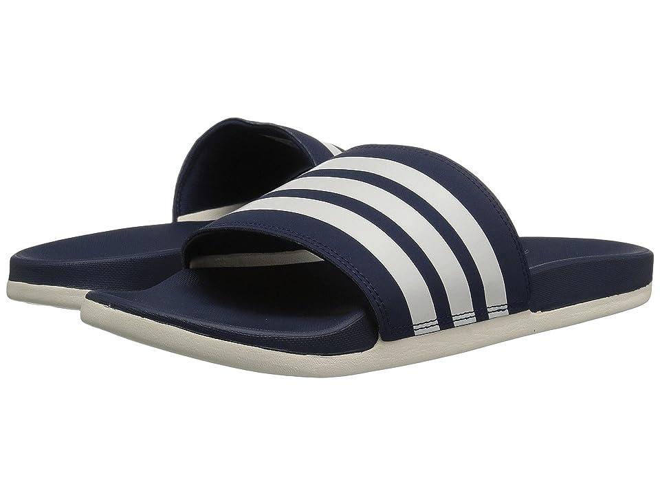 adidas Adilette CF+ (Navy/Chalk White/Navy) Men
