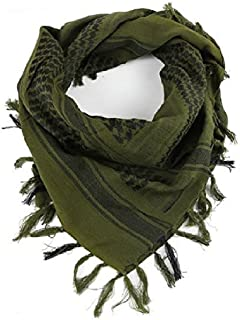 Tactical Desert Shemagh Arab Keffiyeh Neck Scarf Green ¡