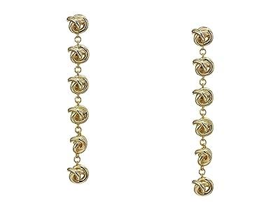 Kendra Scott Presleigh Linear Earrings (Gold Metal) Earring