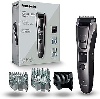 Panasonic ER-GB80-H503 Regolabarba e Tagliacapelli per la Cura di Barba, Capelli e Corpo, Taglio 1-20 mm, Lame in Acciaio ...