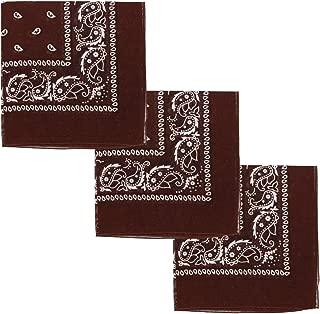 Set of 3 Jumbo Bandanas