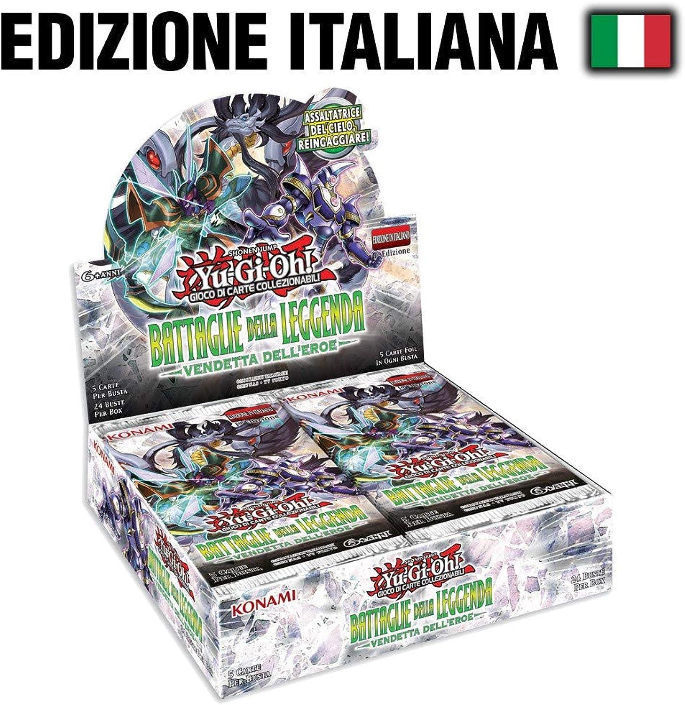 mas preferencial Yu Yu Yu Gi Oh  Battaglie Della Leggenda - Vendetta DELL' Eroe Box 24 Buste Italiano  a la venta