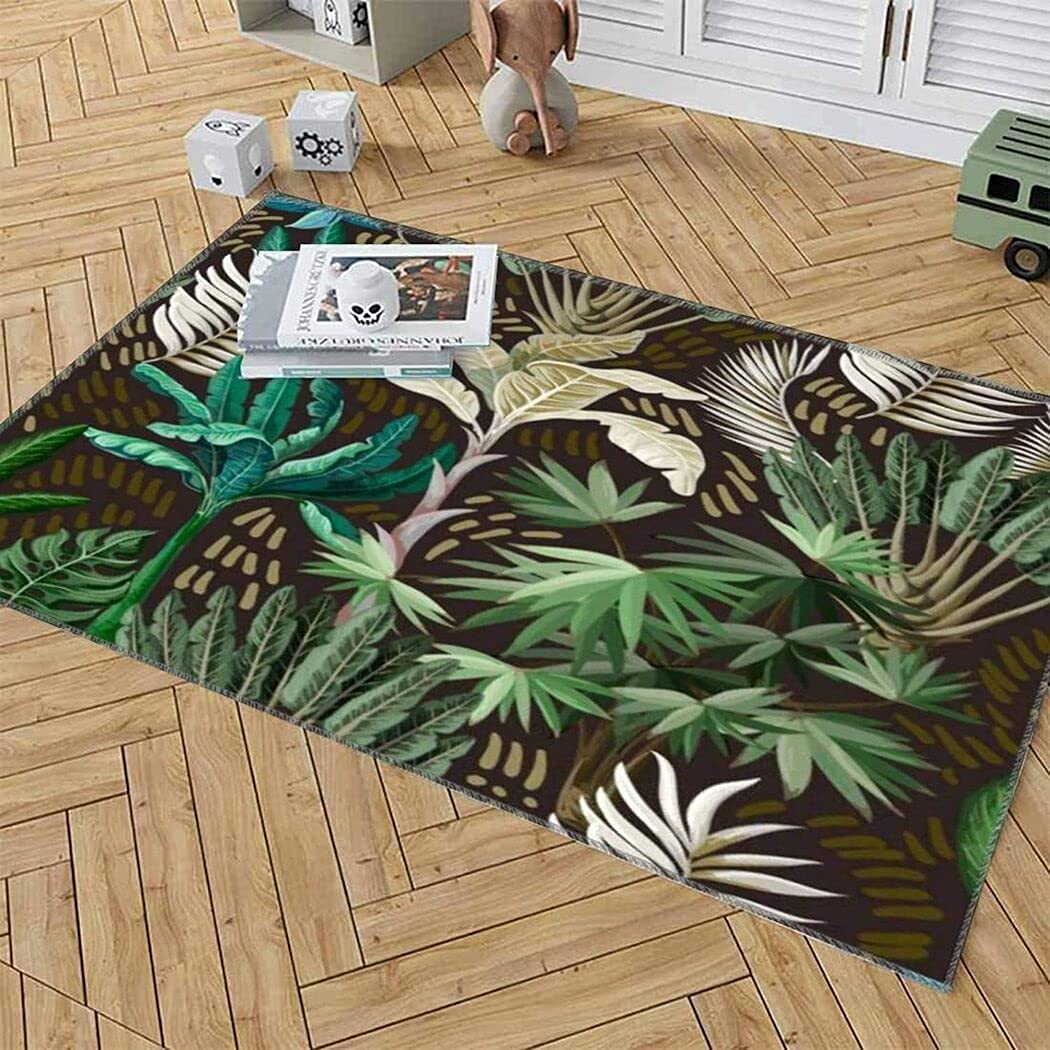 Seamless Award-winning store Pattern with Exotic Trees Such Us and Inter Banana Max 81% OFF Palm