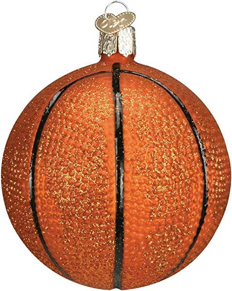 Old World Christmas Ornaments Basketball Glass Blown Ornaments For Christmas Tree