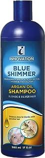 Innovation Shimmer with Argan Oil Shampoo, Blue, 17 Fluid Ounce