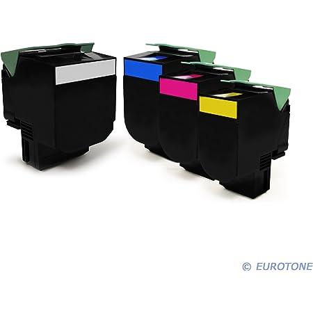 Lexmark Cs 410 Dn Original Tonerkit 70c20k0 702k Schwarz 70c20c0 702c Cyan 70c20m0 702m Magenta 70c20y0 702y Gelb 2 X 500 Blatt Papier Din A4 80g M Bürobedarf Schreibwaren