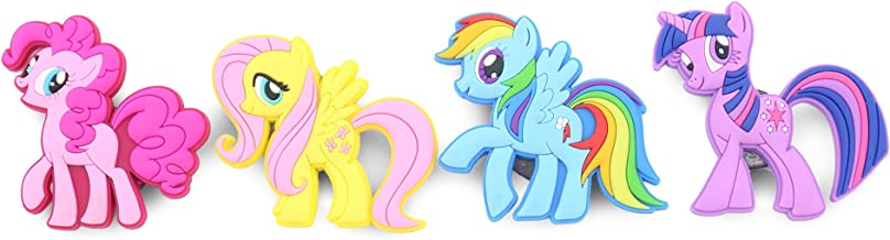 Finex - Set of 4 Large 3 inches - My Little Pony Refrigerator Magnets Fridge Magnet Set for Locker - Rainbow Dash Pinkie P...