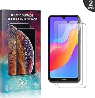 Nessuna Bolla 9H Durezza Trasparente Pellicola Protettiva in Vetro Temperato per Huawei Y6 2019 1 Pezzi Bear Village/® Huawei Y6 2019 HD Vetro Temperato