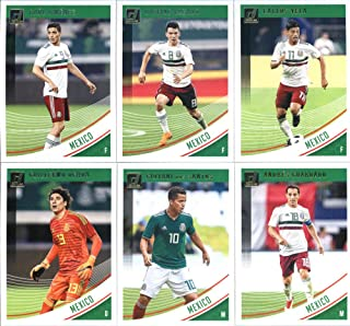 4e6234b4813 2019 Donruss Soccer Mexico Veteran Team Set of 6 Cards  Carlos Vela( 148
