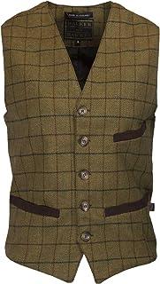 Walker & Hawkes - Mens Tweed Waistcoat Formal Teflon Dress Gilet