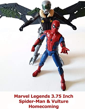 Clip: Marvel Legends 3.75 Inch Spider-Man & Vulture Homecoming