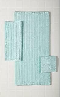 Mainstays Performance Texture 6-Piece Bath Towel Set Classic Mint