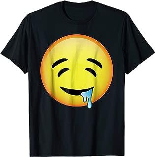 HD Emoji Drooling Face Shirt - Drool Emoticon Tee - Emotag