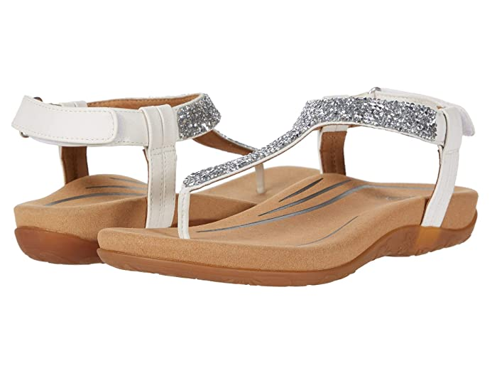 Aetrex  Jade (White) Womens Sandals