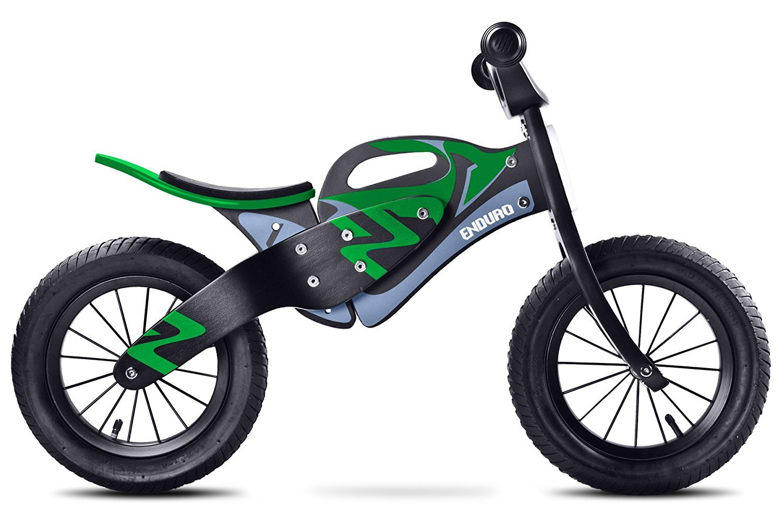 Bicicleta Sin Pedales de Madera Toyz Enduro Caretero, Ruedas Neumáticas Color Verde: Amazon.es: Deportes y aire libre