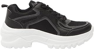 حذاء رياضي للنساء بنمط اغلاق باربطة ومزود بالواح من شو اكسبريس