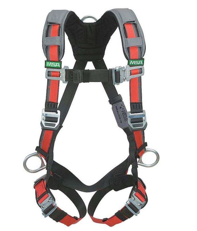 MSA Safety 10105960 Evotech arnés con espalda y la cadera anillas ...