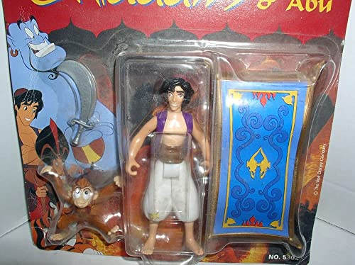 Disney Aladdin Action Figure - The Genie with Lamp & Coin