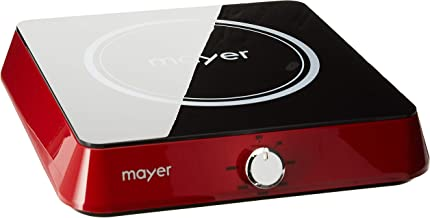 Mayer Induction Cooker with Free Pot, Red
