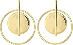LAUREN Ralph Lauren - Double Circle Hoop Earrings