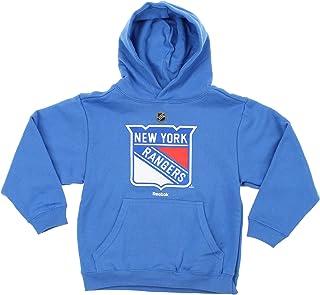 NHL Boysユース&キッズ( 4?–?20?) Primaryロゴプルオーバーパーカー L