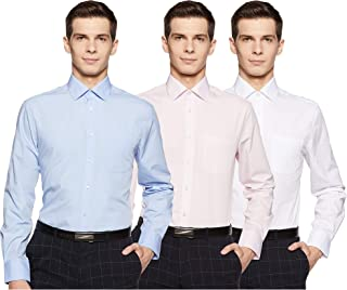 Marks & Spencer Men's Slim fit Formal Shirt (Pack of 3)