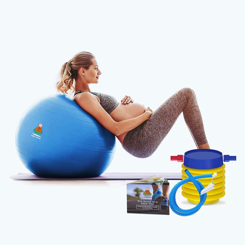 Exercise Ball Clearance Random Super popular specialty store 55cm Blue shopping 65cm Black