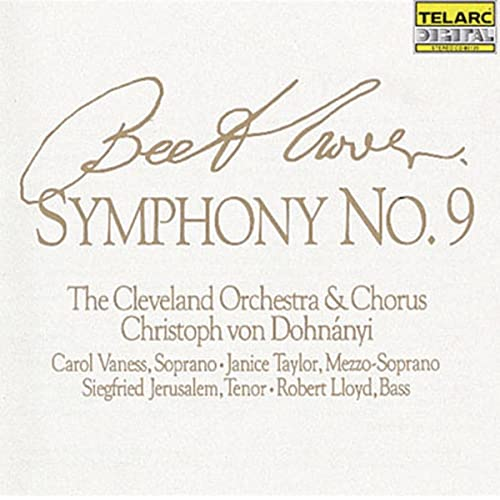 Beethoven: Symphony No  9 by Christoph von Dohnanyi & The