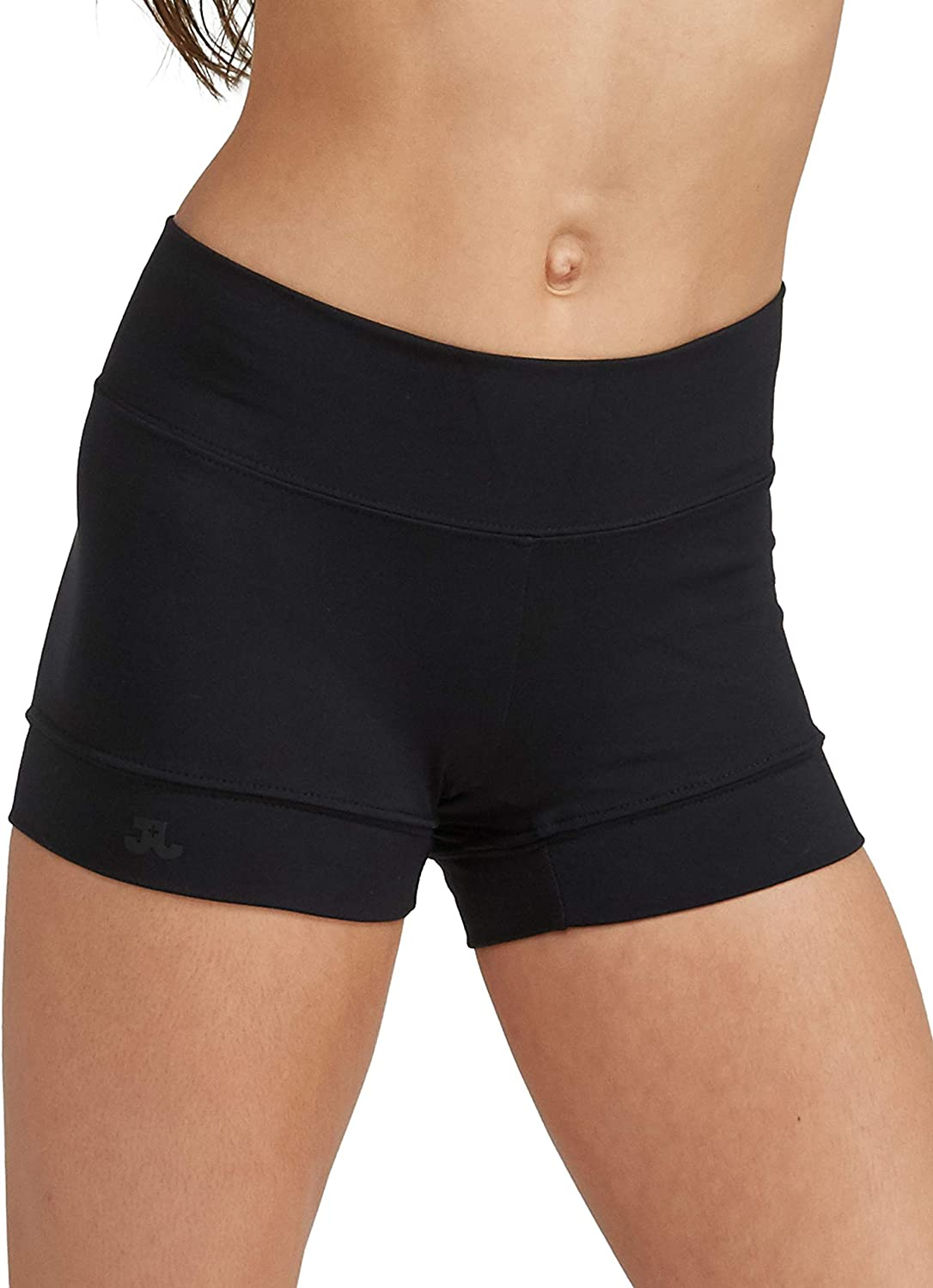 JO + JAX Bandit Booty Short   Dance and Activewear Short with Wide Waist Band for Girls