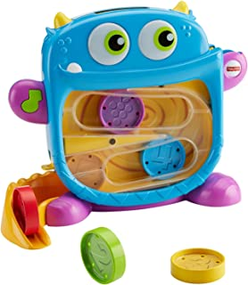 Fisher-Price Core-Hungry Monster Maze, Multi-Colour, DRG11