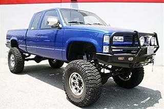 BURB-005-BK DNA Motoring BURB005BK 3 Front Bumper Push Bull Bar For 88-00 Chevy Tahoe Suburban GMC Jimmy Yujon C//K