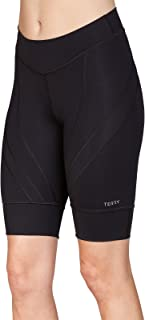 Terry Women's Euro Cycling Short - Ladies Riding Compression Bike Shorts for All Day Riding