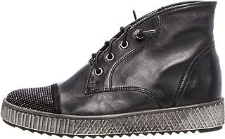 Gabor Boots in grote maten zwart 73.761.87 grote damesschoenen